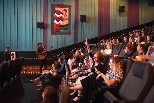 Le point central - festival grand écran - événement cinématographique